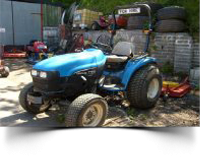 Used garden machinery