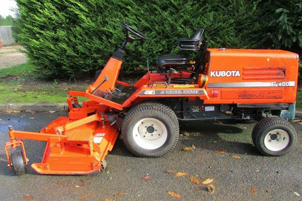 Garden machinery repair and servicing
